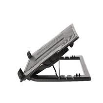 Laptop Stand Kunststof / Metaal Zwart