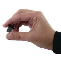 Draadloze USB-Adapter N150 2.4 GHz Zwart/Metaal