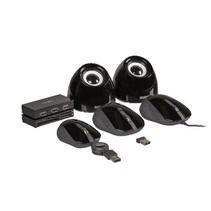 Draadloze Muis Bureaumodel 3 Knoppen Zwart