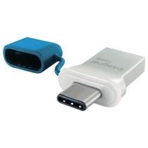 USB Stick USB 3.0 16 GB Aluminium/Blauw