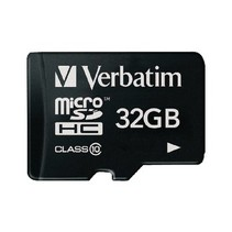 microSDHC Geheugenkaart Klasse 10 32 GB