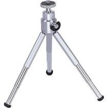 Ministatief 15 cm 0.8 kg Zilver