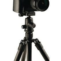 Camera/Video Statief Balhoofd 134 cm Zwart