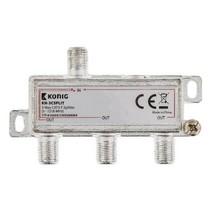 CATV-Splitter 8.5 dB / 5-1218 MHz - 3 Uitgangen
