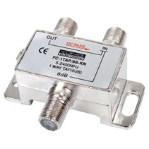 Satelliet Splitter 6 dB / 5-2400 MHz - 1 Uitgang