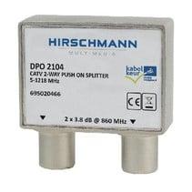 CATV-Splitter 4.8 dB / 5-1218 MHz - 2 Uitgangen