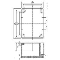 Electriciteit Behuizing Aluminium Legering Aluminium 148 x 108 x 75 mm