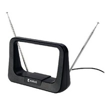 DVB-T/T2 - DAB+ Binnen Antenne 7 dB FM / VHF / UHF