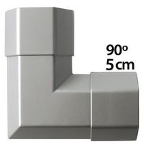 Kabelgoot 50 x 50 mm Zilver