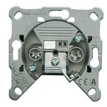 Antenne Wandcontactdoos (Uiteinde) - Zilver 1.8 dB