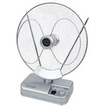 Versterkt DVB-T/T2 - DAB+ Binnen Antenne 36 dB FM / VHF / UHF