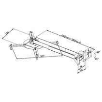 Projector Muurbeugel Draai- en Kantelbaar 10 kg Zwart