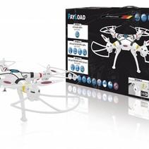 R/C-Drone Payload Altitude 4+4-Kanaals RTF / Gyro Inside / Met Verlichting / 360 Draaibaar 2.4 GHz Control Wit