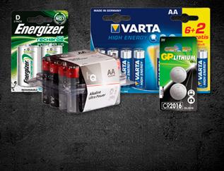 Batterijen - alkaline, lithium, oplaadbaar en meer!