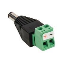 CCTV-Connector DC Cable Male