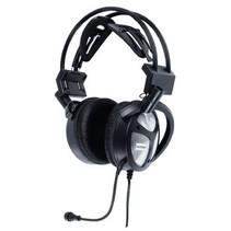 Headset Over-Ear USB Ingebouwde Microfoon Zwart