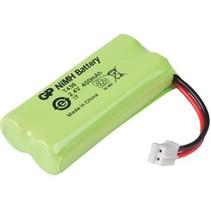 Oplaadbare NiMH Batterij Pack 2.4 V 400 mAh 1-Blister