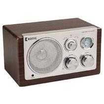 Tafelradio Retro FM / AM 3 W Bruin