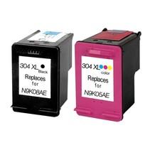 Set Hp 304 XL Zwart en Kleur huismerk INKTPATROONSHOP