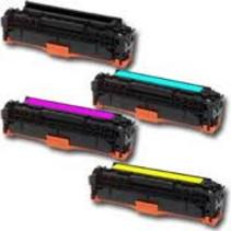Toner HP Voordeelset HP CF401X (201X) 1x zwart + 3x kleur(huismerk)