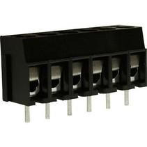 PCB Terminal Block Toonhoogte 5 mm Horizontaal 6P