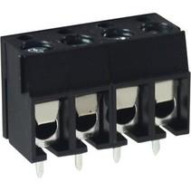 PCB Terminal Block Toonhoogte 5 mm Horizontaal 4P