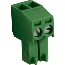 Female Plug Screw terminal Schroef connectie 2P