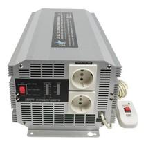 Gemodificeerde Sinus Omvormer 12 VDC - AC 230 V 2500 W F (CEE 7/3)