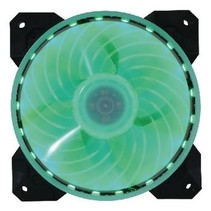 Desktop Ventilator 120 mm LED Lamp Multicolour