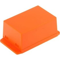 Kunststof behuizing 90 x 45.6 x 27.5 mm Oranje ABS IP00 N/A