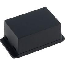 Kunststof behuizing 105 x 70.6 x 50.5 mm Zwart ABS IP00 N/A