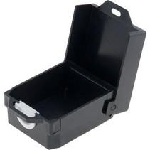 Kunststof behuizing 91 x 79 x 45 mm Zwart ABS IP00 N/A