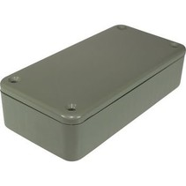Kunststof behuizing 100 x 25 x 50 mm Grijs ABS, High-Impact IP54 N/A