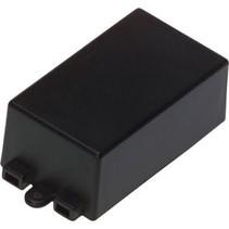 Potting box 65 x 38 x 22 mm Zwart ABS N/A