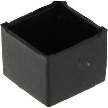 Potting box 11 x 11 x 9 mm Zwart ABS / UL 94V-0 N/A PU = 10 ST