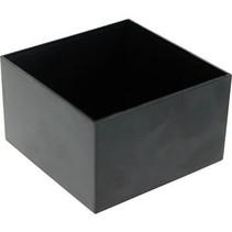Potting box 50 x 50 x 30 mm Zwart ABS / UL 94V-0 N/A PU = 10 ST
