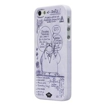 Smartphone Hard-case Apple iPhone 5s Wit/Paars