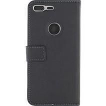 Smartphone Gelly Wallet Book Case Google Pixel XL Zwart