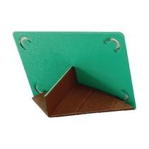 "Tablet Folio-case 10-12"" Bruin/Groen"