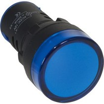 22 mm Panel Indicator Blauw 12 V
