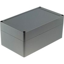Kunststof behuizing 353 x 140 x 121.5 mm Lichtgrijs PC IP65 N/A