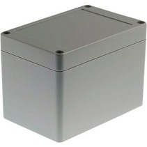Kunststof behuizing 120 x 80 x 85 mm Lichtgrijs PC IP65 N/A