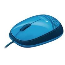 Bedrade Muis Bureaumodel 3 Knoppen Blauw