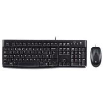 Bedrade Muis en Keyboard Standaard USB US International Zwart