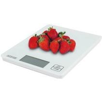 Keukenweegschaal Wit LCD