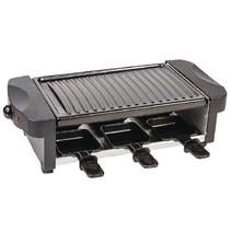 Raclette-Grill 6 Personen 1000 W Zwart