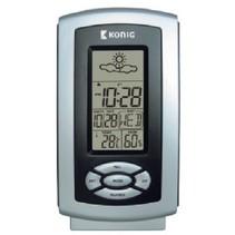 Thermo Hygrometer Weerstation Binnen Grijs