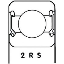 Lager Origineel Onderdeelnummer 6202 2RS1