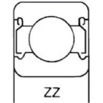Lager Origineel Onderdeelnummer 6202 ZZ