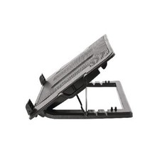 """Verstelbaar Laptop Stand tot en met 18"""" Kunststof / Metaal Zwart"""